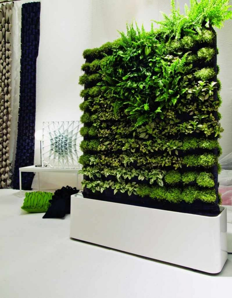 Green your indoor space storybook apothecary Indoor living wall herb garden