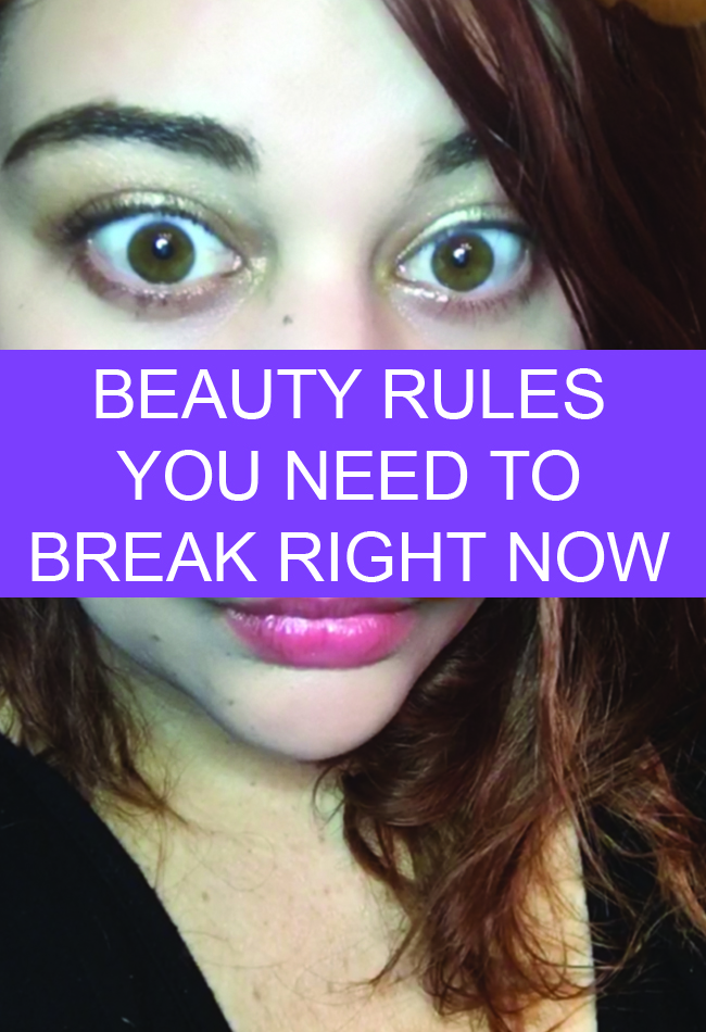 Dating rules you need to break