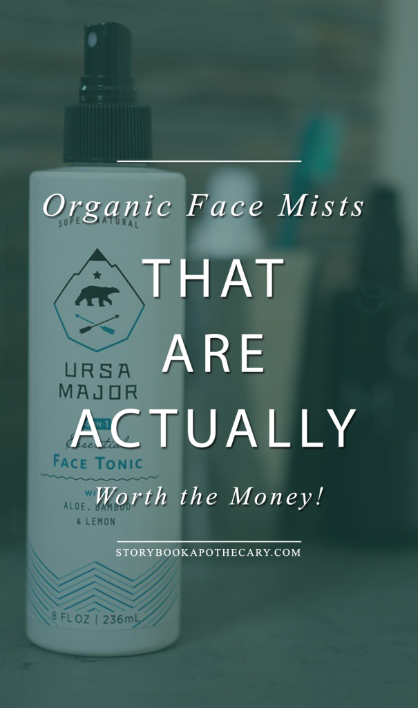 Organic Face Mists that Are Worth the Money - Click through to read about these amazing natural face toners that will actually make a difference to your skin!