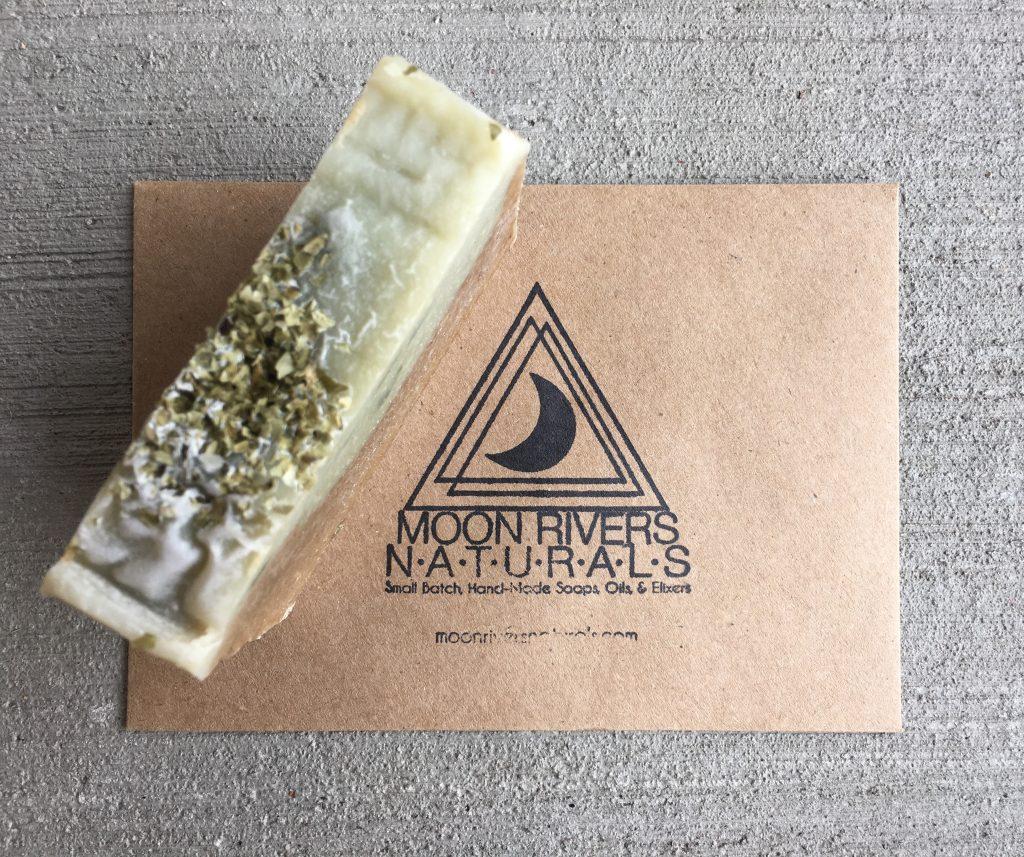Handmade Soap - Natural Seaweed Soap - Moon Rivers Naturals Review