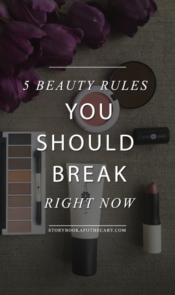5 Beauty Rules You Should Break Right Now