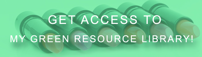 green resource library button