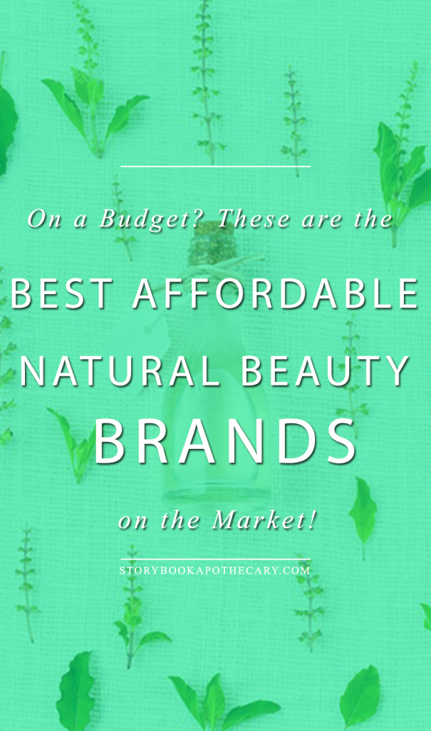 Click through for the Best Affordable Natural Beauty Brands