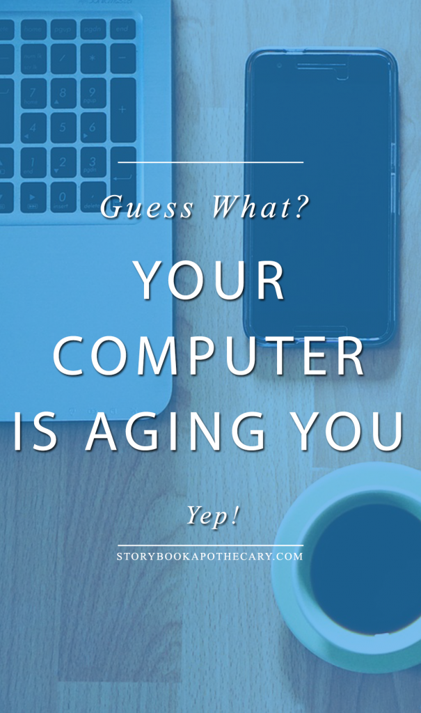 Guess what ? Your computer is aging you. Yep. The blue light is counteracting all of your skincare efforts. So pissed right now! Click through for my rant + how to fight back!