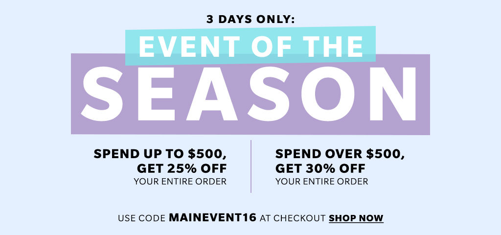 Big Shopbop Sale You do NOT want to miss!