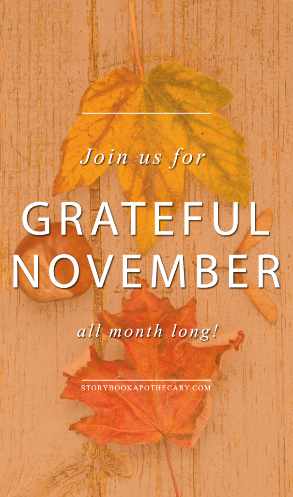 Join us for Grateful November All Month Long!