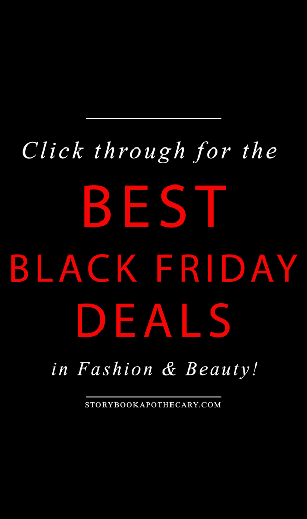 Click through for the BEST Black Friday Deals in beauty and fashion!
