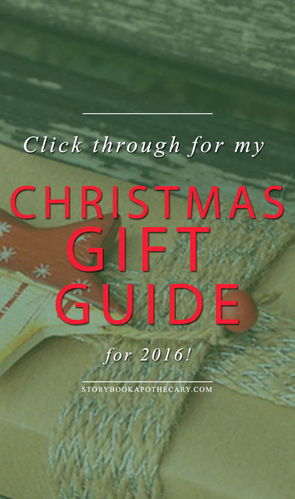 Click through to see my Christmas Gift Guide for 2016!