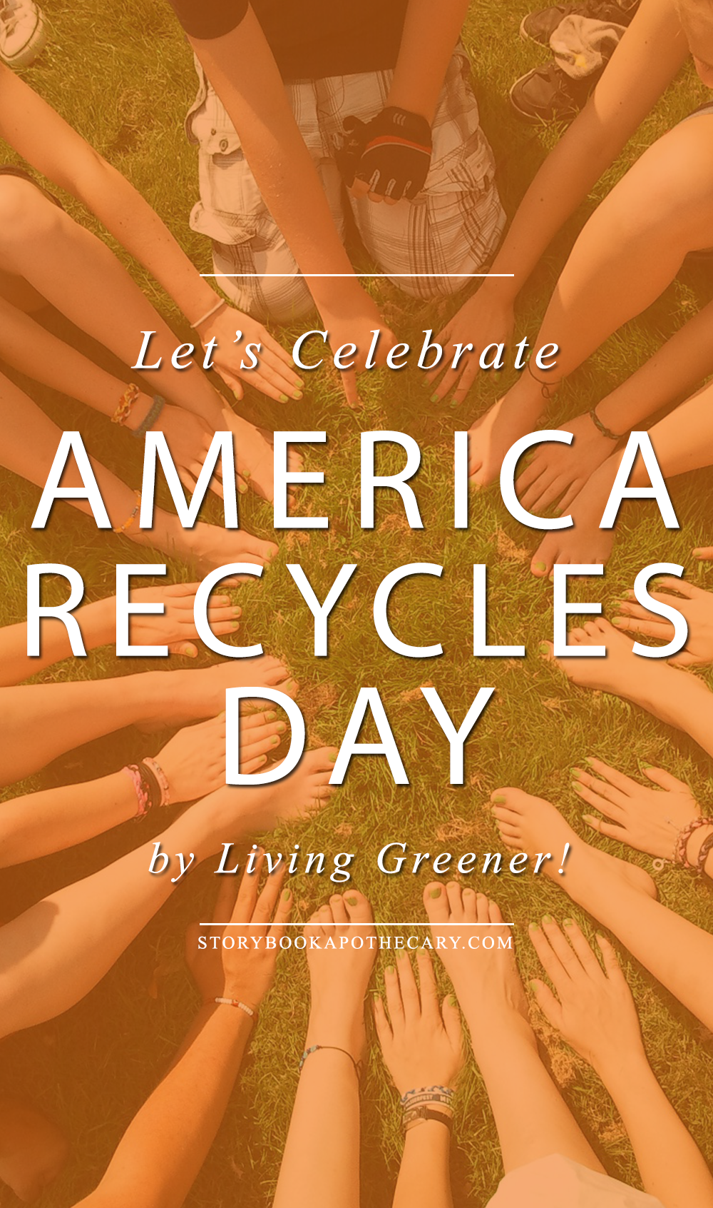 Happy America Recycles Day! + 10 ways to live a little greener!