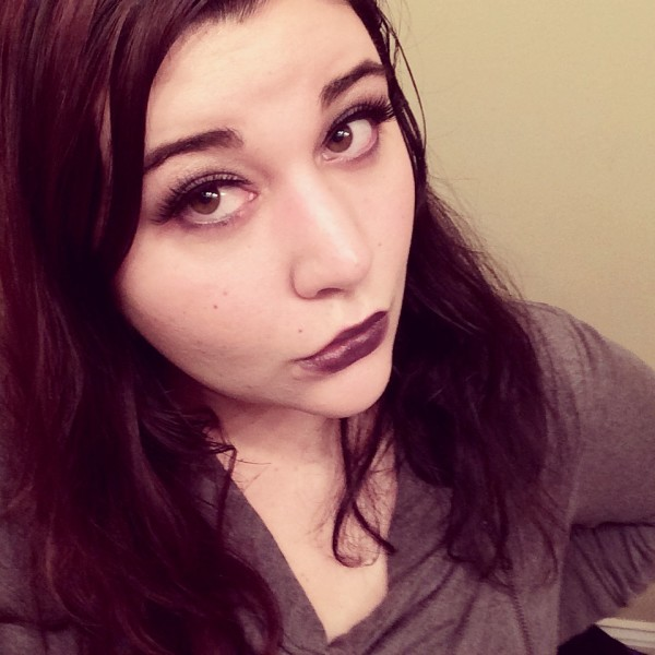 Gothic Holiday Makeup