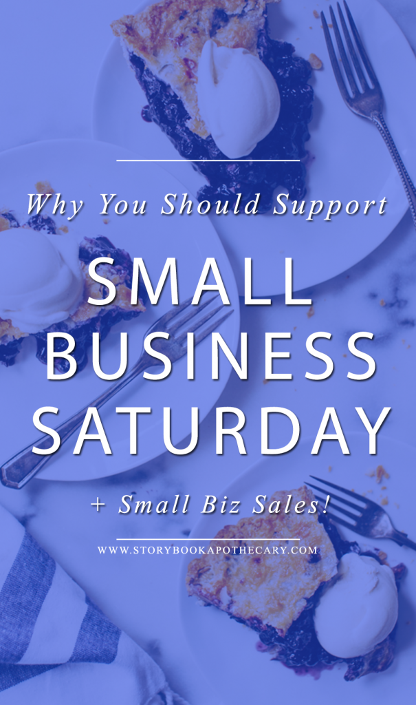 Click through to learn more about Small Business Saturday, Why You Should support small independent brands and the awesome sales you can shop now!