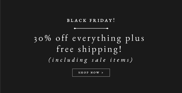 Raven + Lily Black Friday Deal