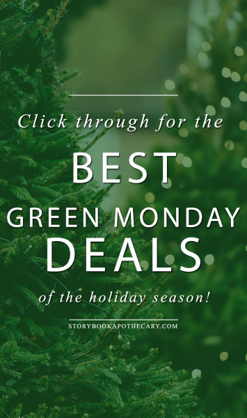 Green Monday Deals Are Here!