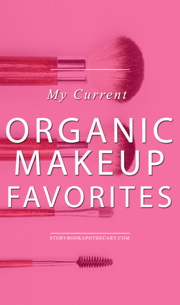 My Current Organic Makeup Favorites