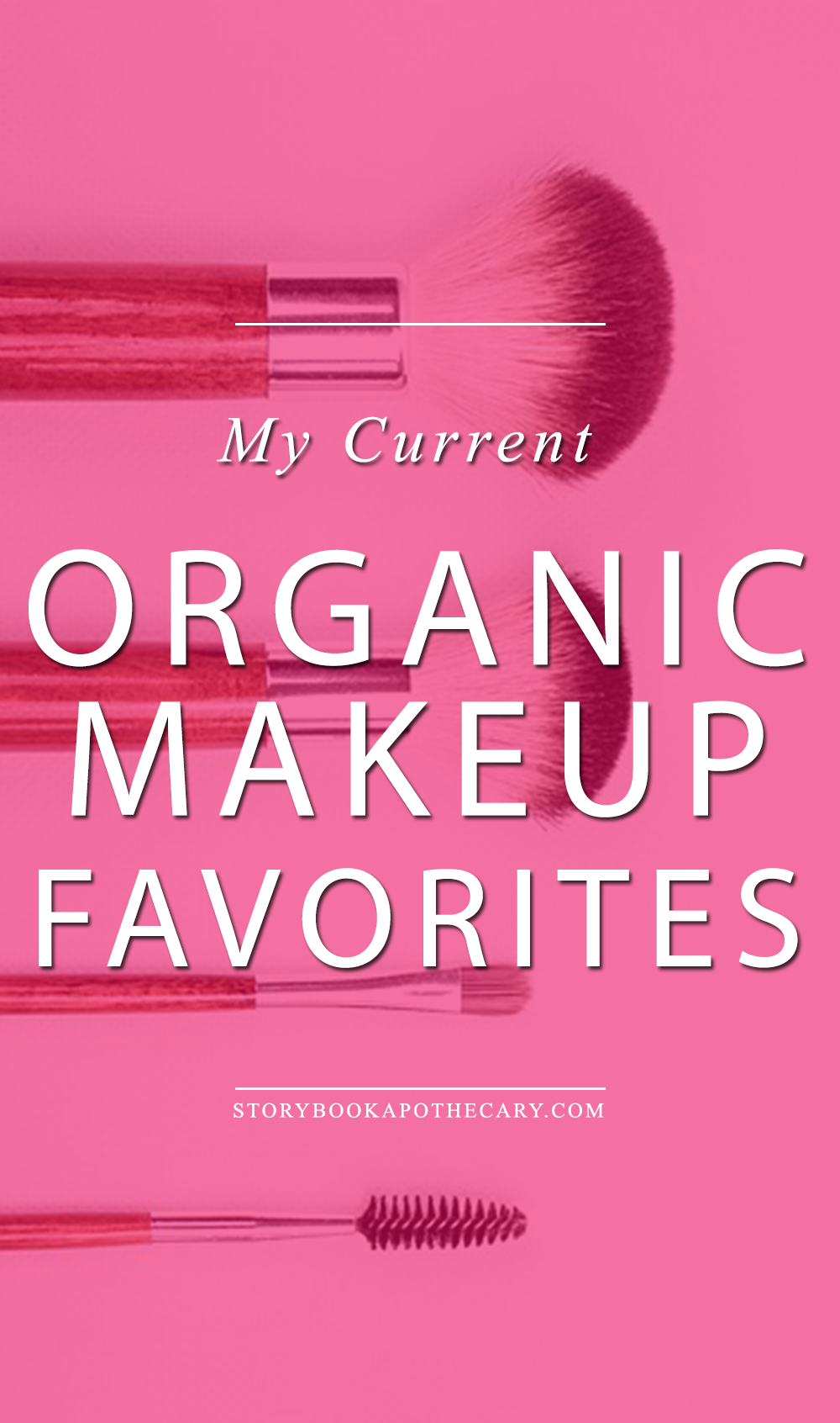 My Current Must Have Makeup Palettes: My Current Organic Makeup Favorites