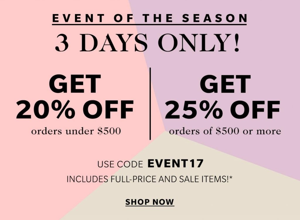 Early Access to the Spring Shopbop Sale!
