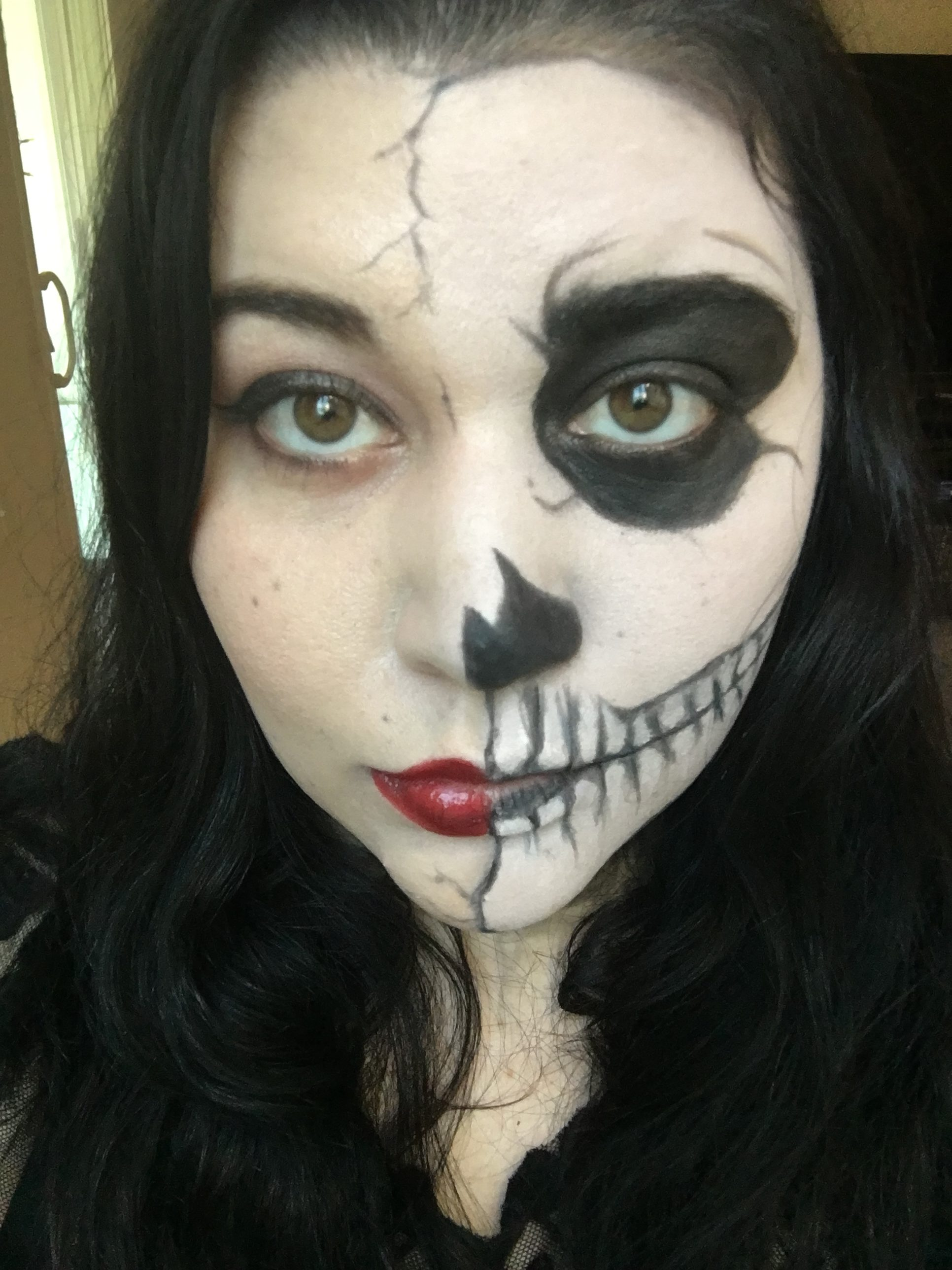 Easy Last Minute Halloween Makeup Ideas you can recreate in 30 minutes or less!