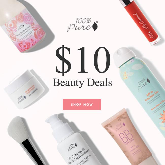 100 percent pure cosmetics black friday deal