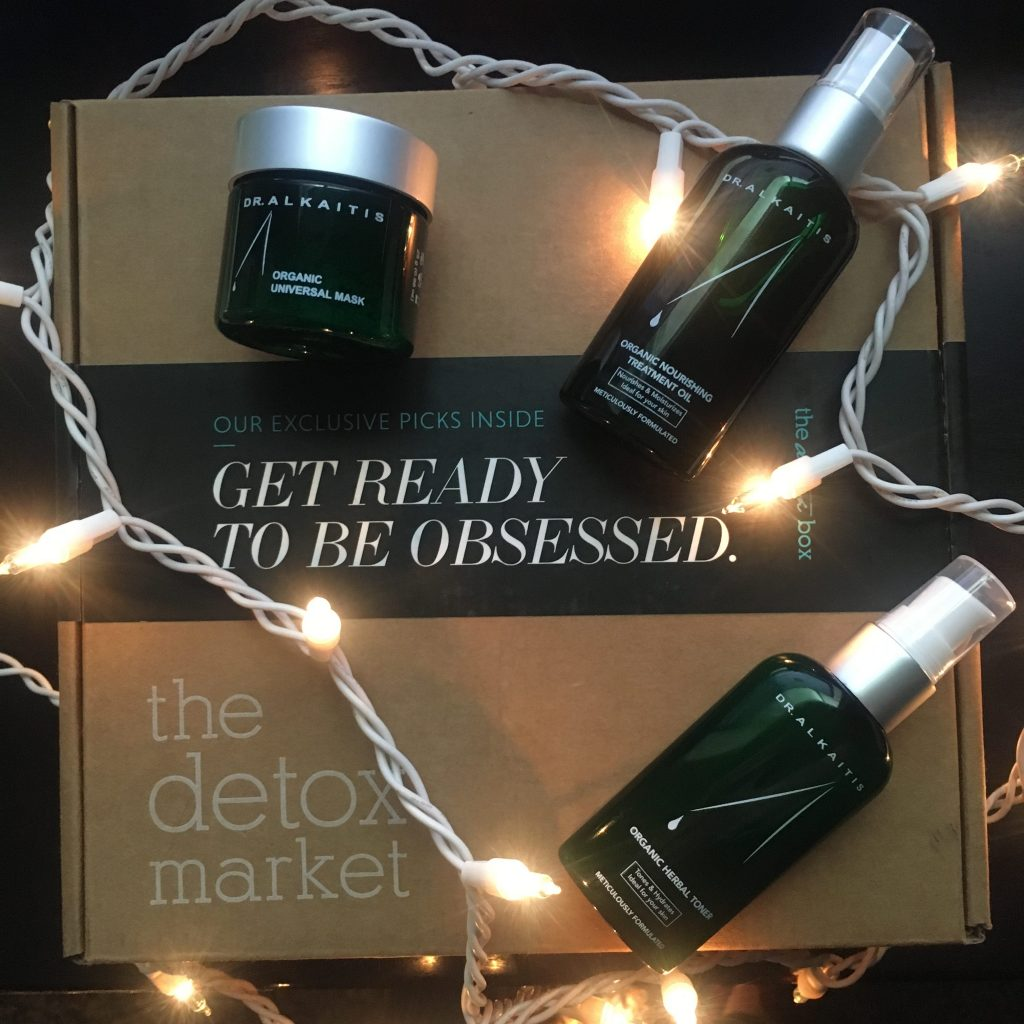 Dr. Alkaitis Skincare in the December Detox Box!
